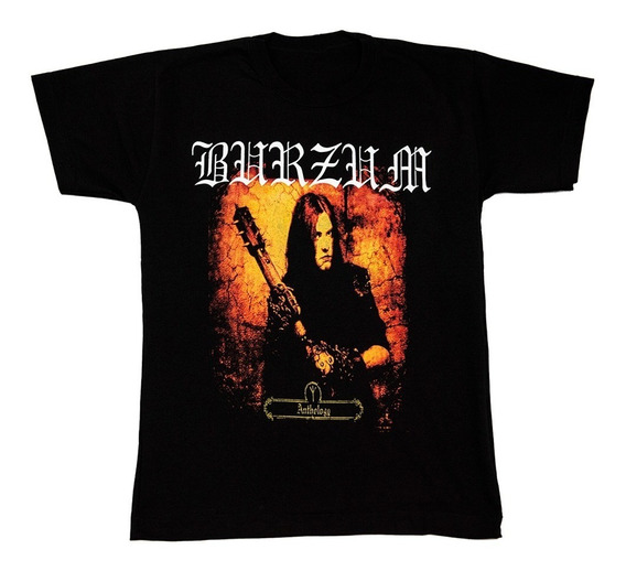Burzum - Remera - Varg Vikernes - Anthology - Black Metal