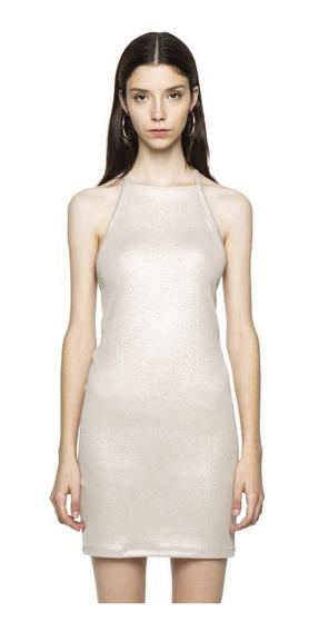 Vestido Leslie New Casual Cuello Cubierto Mujer Complot