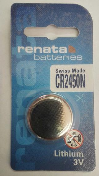 Pila Bateria Renata Cr2450n Litio 3v Swiss Made