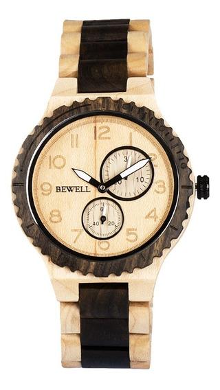 Reloj De Madera Para Hombres Mujeres Peso Ligero