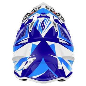 Capacete Airoh Motocross Aviator 2.2 Flash Blue