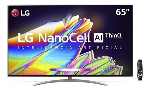 Imagem 1 de 9 de Smart Tv LG 65  8k Ips Nanocell Wifi Bluetooth Hdr Iot