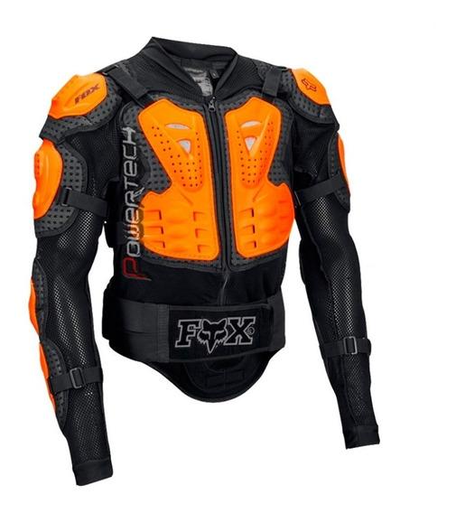 Pechera Fox Armadura Titan Sport Jacket - Black / Orange