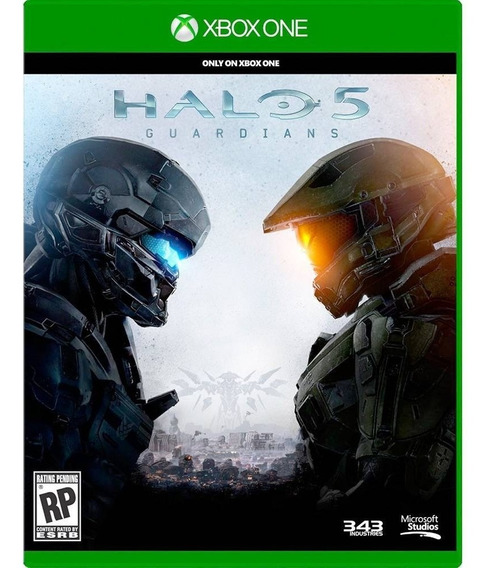Jogo Halo 5: Guardians - Xbox One Mídia Física Frete 12,00