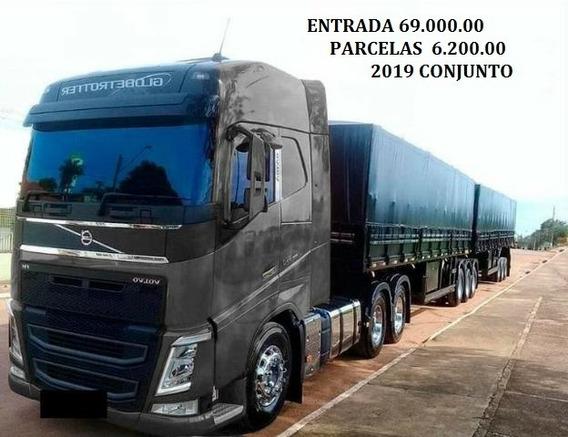 Fh 540 6x4 2019 Com Rodotrem Randon