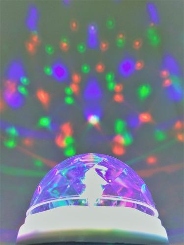 Bombillo Led Multicolor Giratorio Disco Fiesta