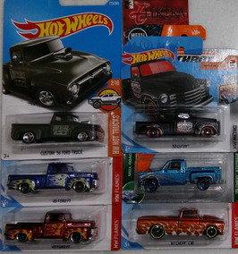 Hot Wheels 6 Pickups Chevy Ford Truck