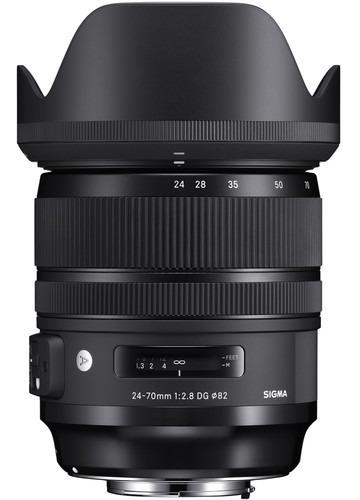 Lente Sigma 24-70mm F2.8 Dg Os Hsm Art ( Canon / Nikon )