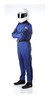 Traje / Overol De Carreras Marca Racequip Azul Talla L