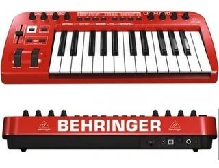 Teclado-controlador Behringer (umx 25 U-control) Usb/midi