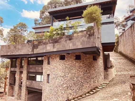 Cva295 Espectacular Casa En Condominio Valle De Bravo