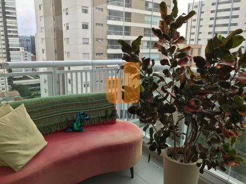 Apartamento Com 32 Me, 1 Vaga, Ótima Localização Em Pinheiros.   - Bi5004