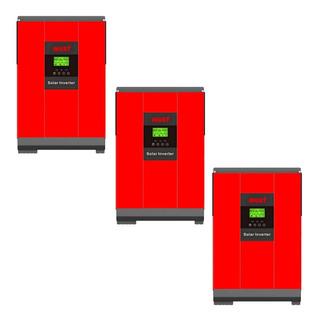Inversor Cargador Solar Híbrido Trifasico 5kw Por Fase Must