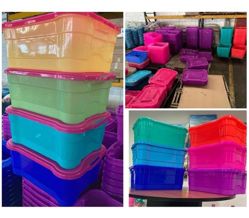Imagen 1 de 8 de Cajas Plásticas Multiuso/organizadores/contenedores Duraplas