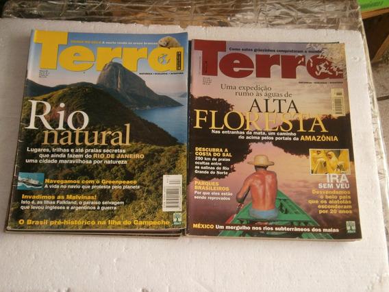 20 Revistas - Os Caminhos Da Terra Por R$ 41,00