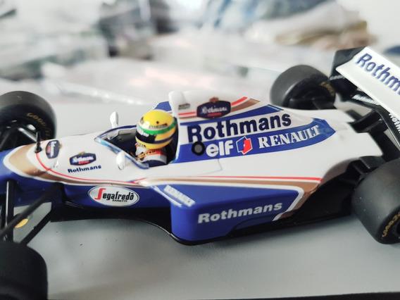 F1 Ayrton Senna - Williams 1994 - 1:43 - 25 Anos - Rothmans
