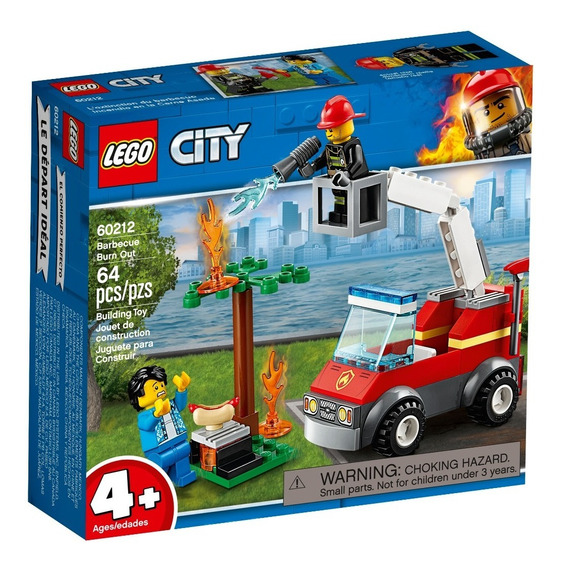 Lego® City - Incendio En La Barbacoa (60212)