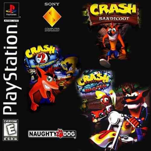 Crash Bandicoot 1 2 E 3 Ps3 Psn - Midia Digital