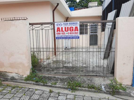 Casa Terrea Jd.são Paulo Com 1 Vaga -r$ 800,00 Ac Deposito