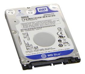 Hd 500gb Notebook Ultrabook Sata Wd Wd5000lpvx 7mm