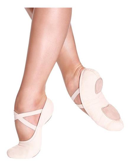Sapatilha Meia Ponta Para Ballet Só Dança Sd16