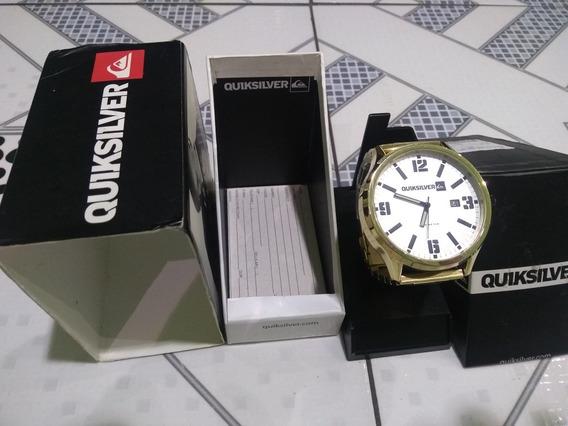 Relógio Original Quiksilver Na Caixa Com Nota Fiscal
