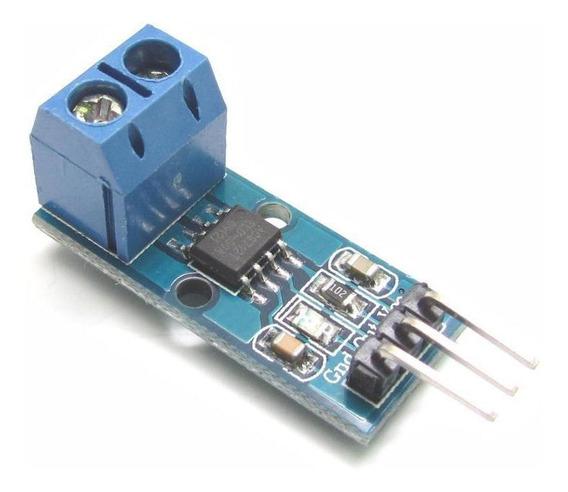 Módulo Medidor Sensor De Corrente Acs712 20a Arduino Pic