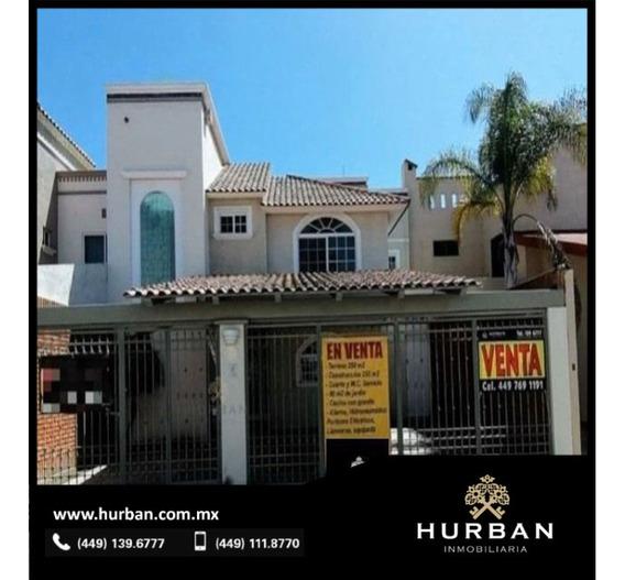 Hurban Vende Hermosa Residencia En Dos Plantas En Aguascalientes, Al Norte.