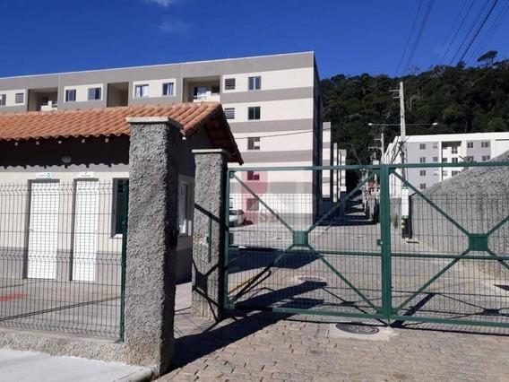 Apartamento Para Alugar, 49 M² Por R$ 700,00/mês - Pimenteiras - Teresópolis/rj - Ap0799
