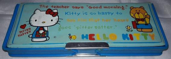 Estojo Escolar Antigo Hello Kitty 1 Ciplast 23x9x3cm Anos80
