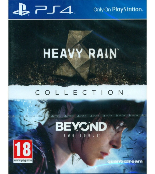 Heavy Rain & Beyond Two Souls Collection Ps4 Mídia Física