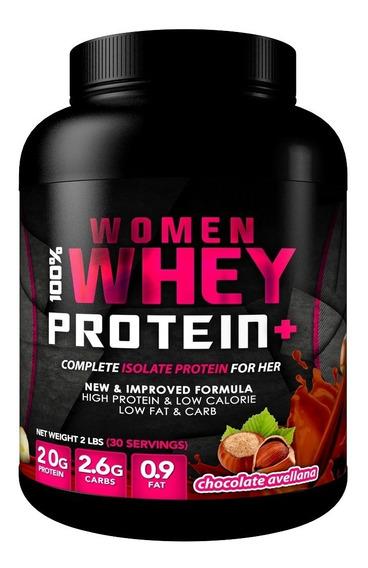 Proteina Woman 100% Whey 2 Lbs (30 Serv) + Envio Gratis