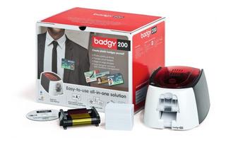 Impressora De Cartões Pvc Evolis Badgy200 - Promoção