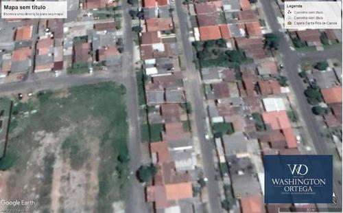 Imagem 1 de 3 de Terreno À Venda, 242 M² Por R$ 220.000,00 - Cidade Jardim - São José Dos Pinhais/pr - Te0062