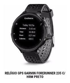 Relógio Gps Garmin Forerunner 235 C/hrm