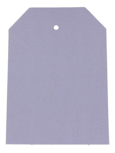 1000 Cartela De Papel Formato De Etiqueta - Cores Variadas
