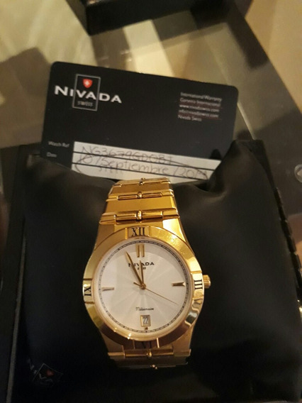 Reloj Marca Nivada Original