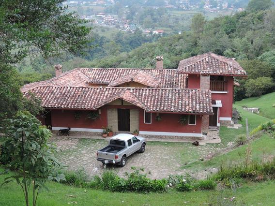 Casa Finca Espectacular En Merida, El Vallecito