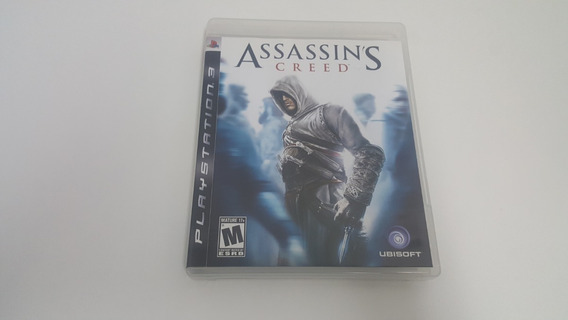 Jogo Assassins Creed 1 - Ps3 - Original - Mídia Física