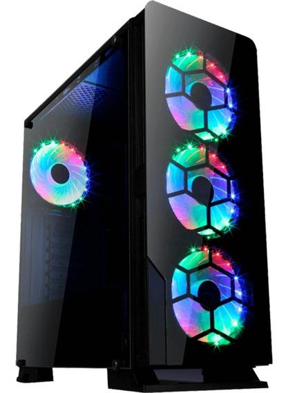 Pc Gamer I5 8400 8ºg + Placa Asus + Gtx 1050 Ti 4gb
