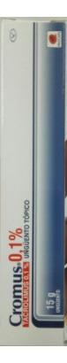 Cromus 0.1% Ungüento Tubo
