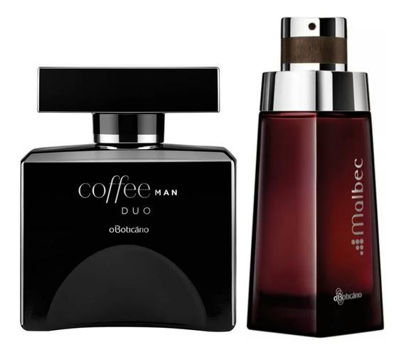 Perfume Coffee Duo Man + Malbec Boticário