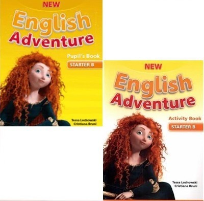 New English Adventure Starter B - Pupil´s And Activity Book