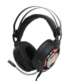 Fone Headset Gamer 7.1 Surround C/ Microfone Pc Usb Led Rgb