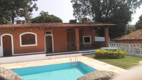 Casa Com Piscina Em Atibaia- Sp - Ca13003