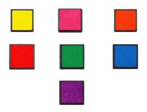 Almohadillas Tinta Sellos. (pack Por 3 Unidades) - Colores