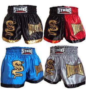 Kit 2 Shorts Muay Thai Modelo A Escolha + Frete Gratis