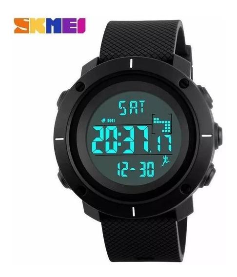 Relógio Skmei Black Top Esportivo Digital Original Promoção