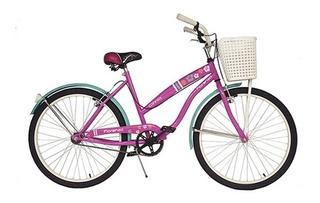 Bicicleta Dama De Paseo Fiorenza Cinnia R26