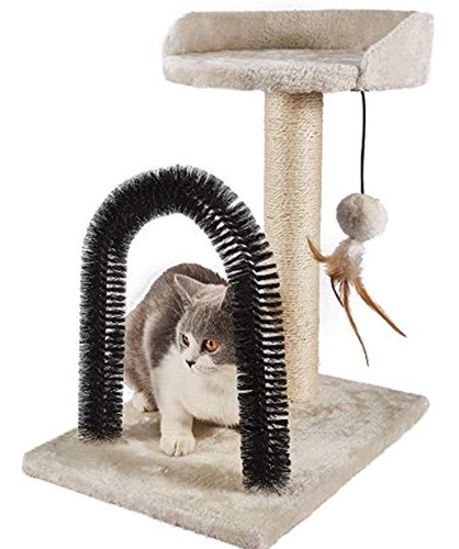 Imagen 1 de 5 de Peekab Poste Rascador De Gato Con Arbol De Torre De Gato Y